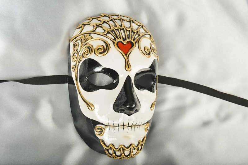 Halloween mask day of the dead